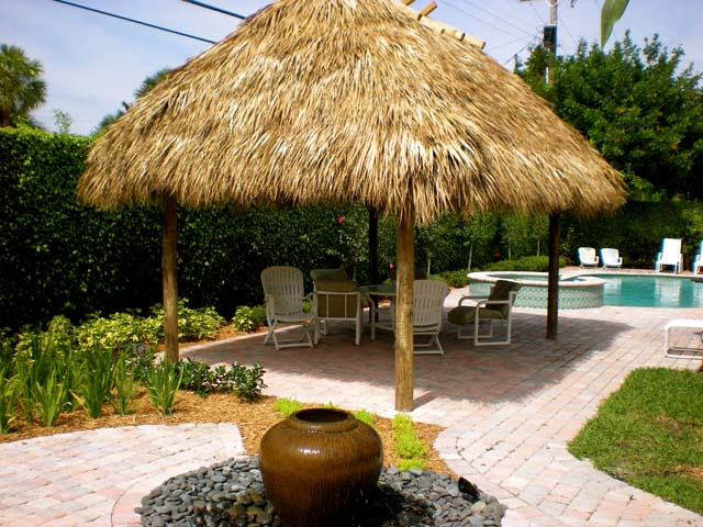 Custom Tiki Huts in Fort Lauderdale