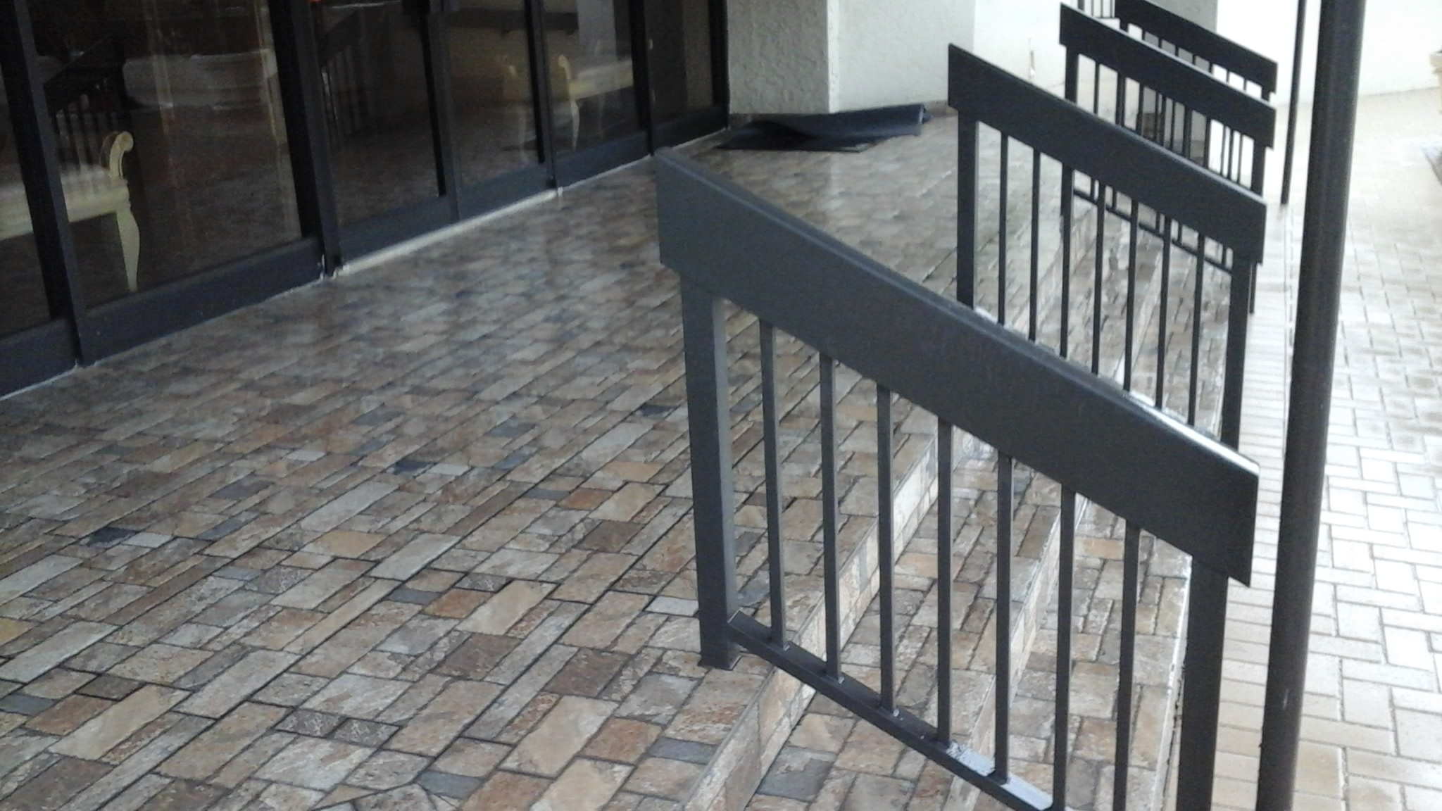 Commercial Entry Way Pavers